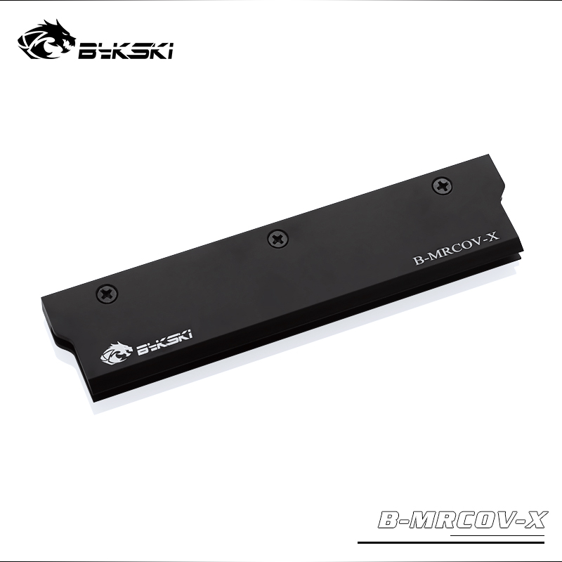 BYKSKI Full Metal Radiator Cover use for RAM Radiator Color Black Cover for Liquid Cooling System Heat Dissipation Cover 1pcs|ram cover|cover radiator|bykski ram - title=