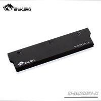 Bykski uso de cobertura do radiador de metal completo para ram cor preto capa para sistema de refrigeração líquido dissipação de calor capa 1pcs|ram cover|cover radiatorbykski ram -