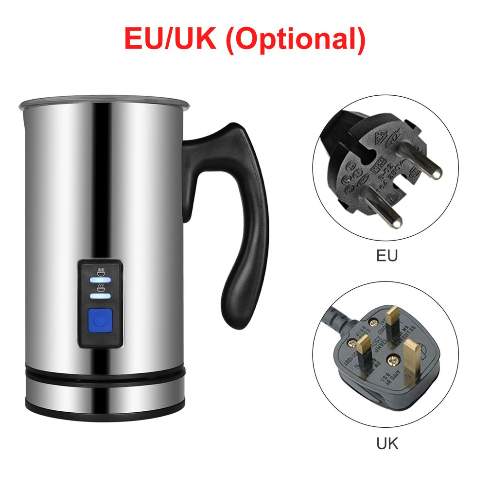 3 Function Electric Milk Frother Milk Steamer Creamer Milk Heater with Foam Density for Latte Cappuccino Hot Chocolate