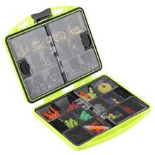 Outdoor Supplies  Fishing Tool Box Fishing Beads Lure Bait Jig Hook Swivels Tackle With 24 Compartments Fishing Accessories Box fishing tackle box fly fishing box spinner bait minnow popper 9 compartments black
