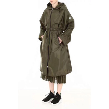 Luxury Design Spring Autumn Casual Street Style  Women's Spring Fashion Long Trench Coat Casual Butterfly Long Sleeve Coat 1