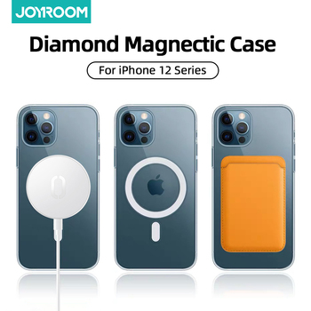 Magnectic  iPhone 12 Pro Max 12 mini Case – Full Protection PC+TPU