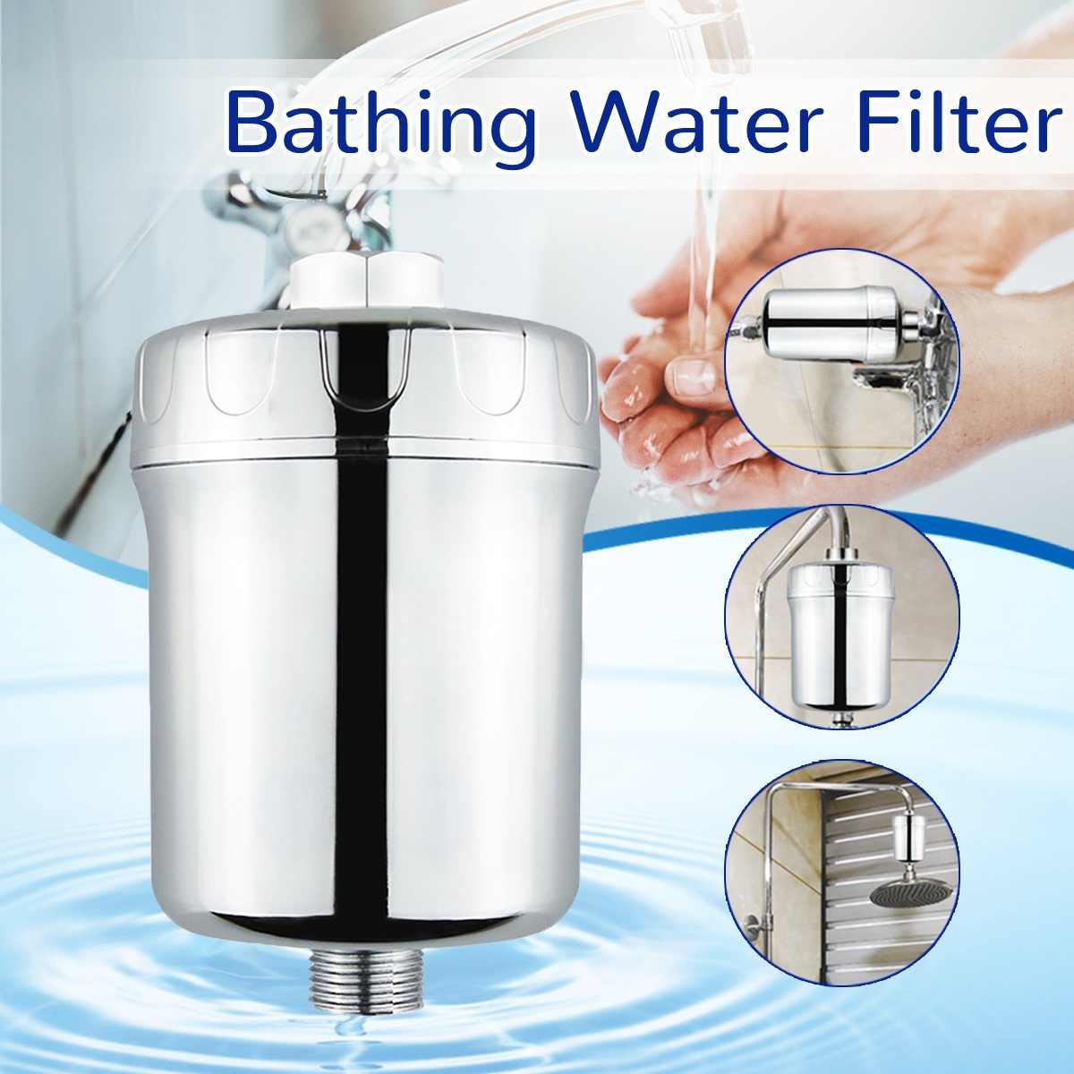 جديد الحمام الرش تصفية المياه الحنفية تنقية تصفية المياه في خط صنبور دش رئيس المطبخ المنقي إزالة الكلور