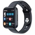 T88 Смарт-часы мужские смарт-браслет 1,3 дюймов полный сенсорный экран шагомер счетчик шагов водонепроницаемый монитор сердечного ритма Bluetooth...