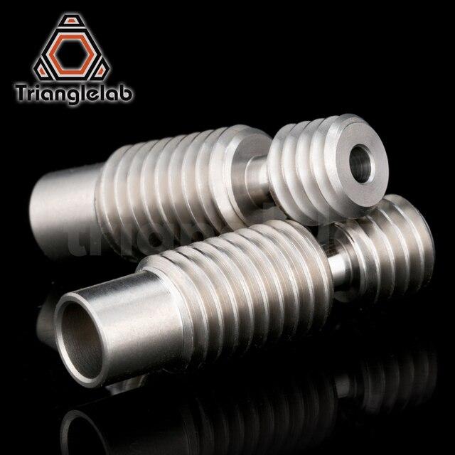 1PC di alta qualità di calore pausa per E3D V6 HOTEND Vocano riscaldatore del blocco 1.75 MILLIMETRI Filamento Tubo di Alimentazione A Distanza 3D accessori per stampanti