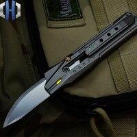 Faca de corte de papel portátil ao ar livre da faca de serviço público edc auto-defesa nova faca de corte de papel