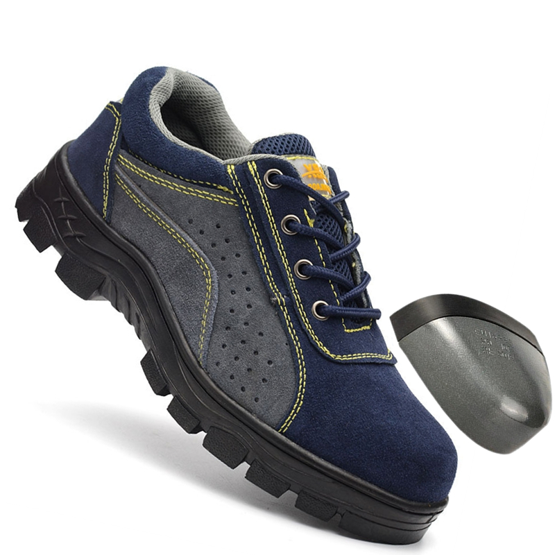 Mhysa 2019 New Work Boots Men Outdoor Shoes Men High Quality Ankle Boots Comfortable And Safe Men Waterproof Non-slip Work Shoes