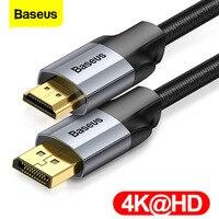 Baseus DP a HDMI-cavo compatibile 4K da maschio a maschio Display Port a 4KHD Splitter cavo adattatore per proiettore TV convertitore cavo