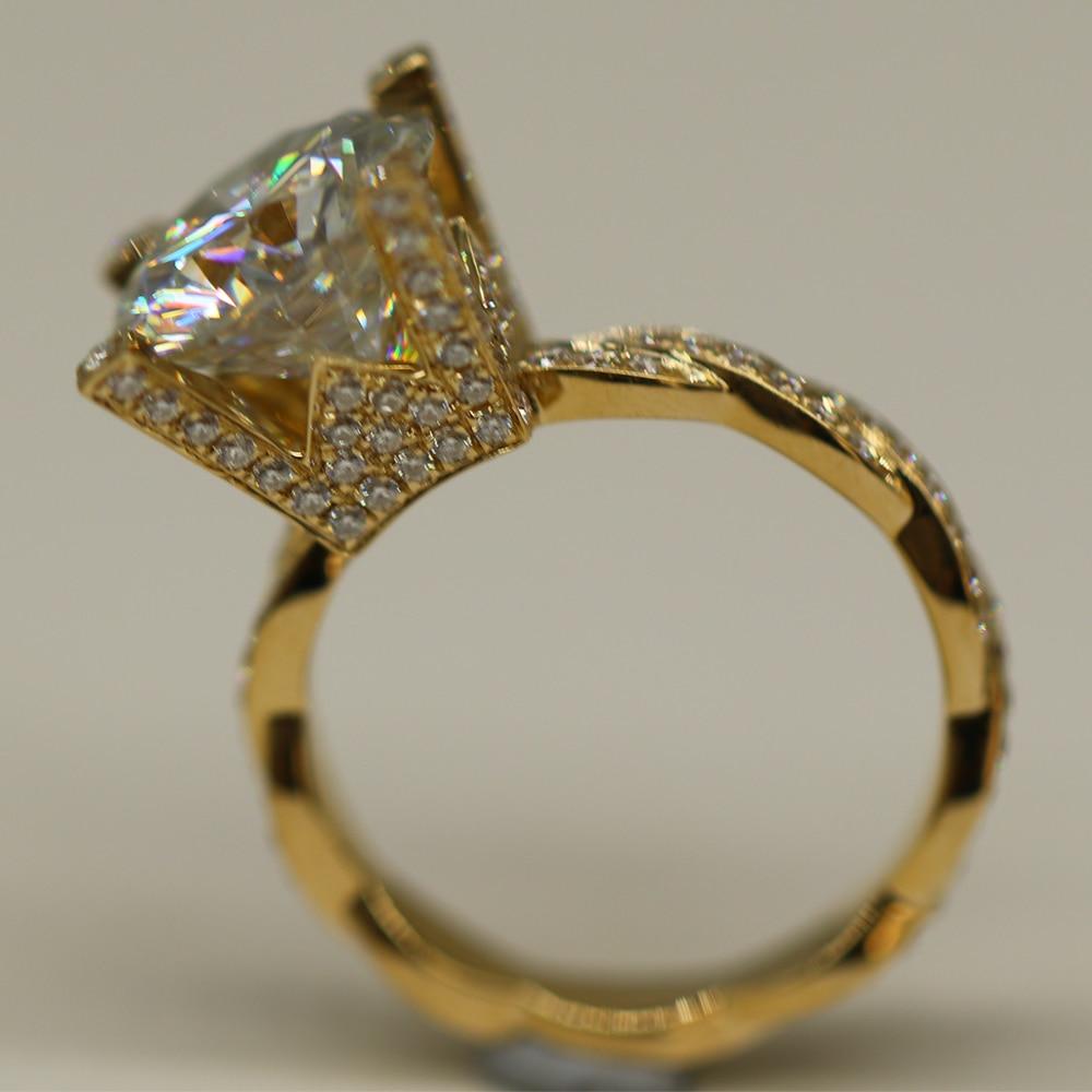 10K or Blanc Marron Chocolat Diamond Band Empilage Bague Diamant .10 ct