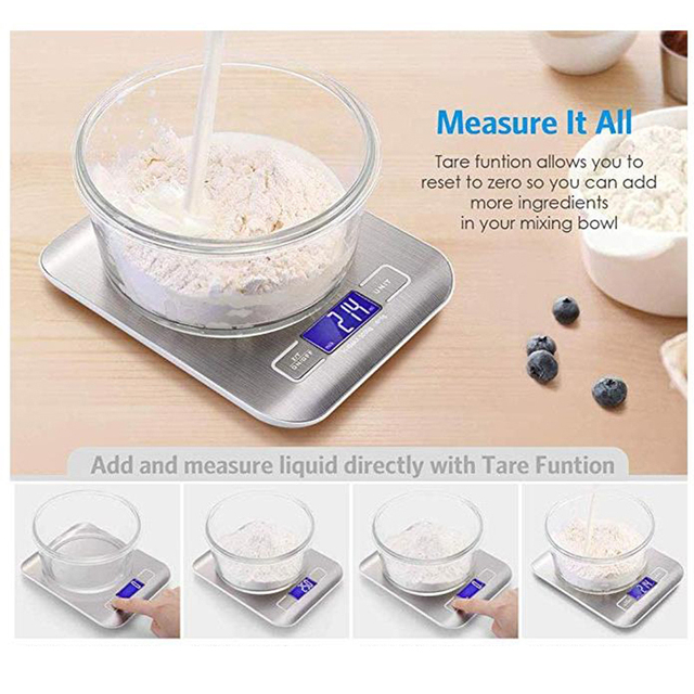 High Precision Electronic Kitchen Scale 4