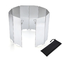 Screens Gas-Stove Cooking-Cooker Outdoor Camping Picnic-Tools Wind-Shield Wind-Deflectors