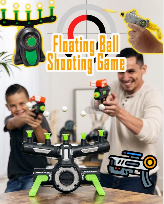 Floating Ball Shooting Game Air Hover Shot Floating Target Game for Holiday Season & Parties Fun Party Supplies Dropshipping(China)