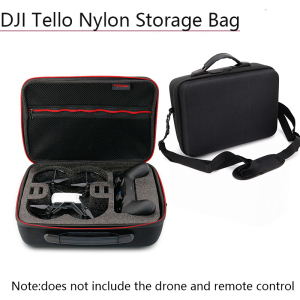Image 1 - Nylon Storage Bag Case Portable Shoulder Box Protective Suitcase for DJI Tello Game Pad Battery Drone Parts Accessories