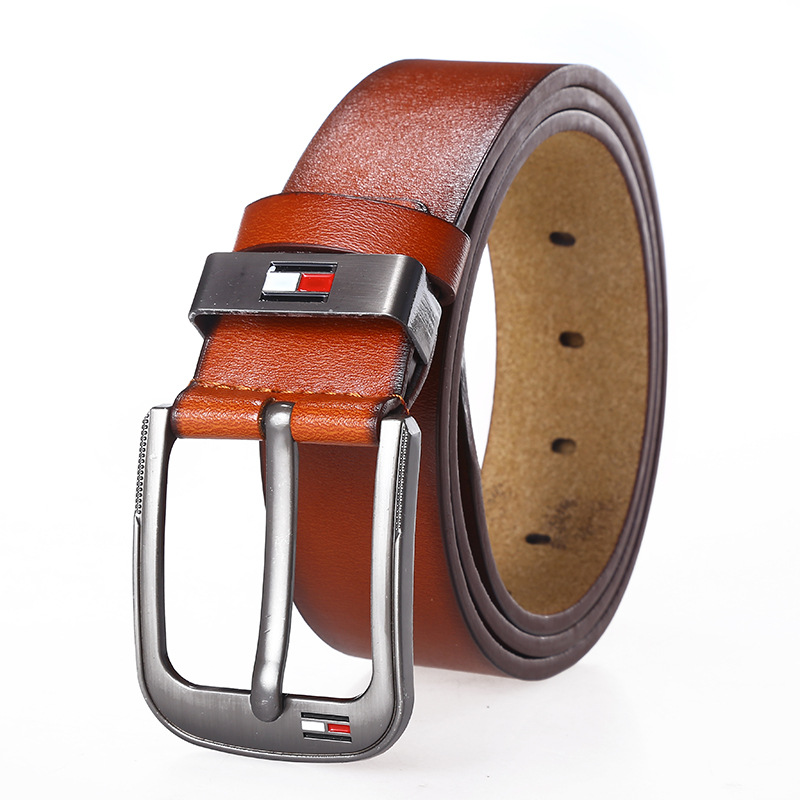 2020 Spring New Casual Retro Pu Microfiber Leather Belt Washed Belt Men's Leather Belt Factory Direct Wholesale