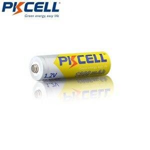 Image 2 - 4 قطعة/PKCELL AA بطارية قابلة للشحن AA 1.2 فولت ni mh 2A 1300 مللي أمبير بطاريات AA مع 1 صندوق علبة بطارية ل DVD Mp3 كاميرا رقمية