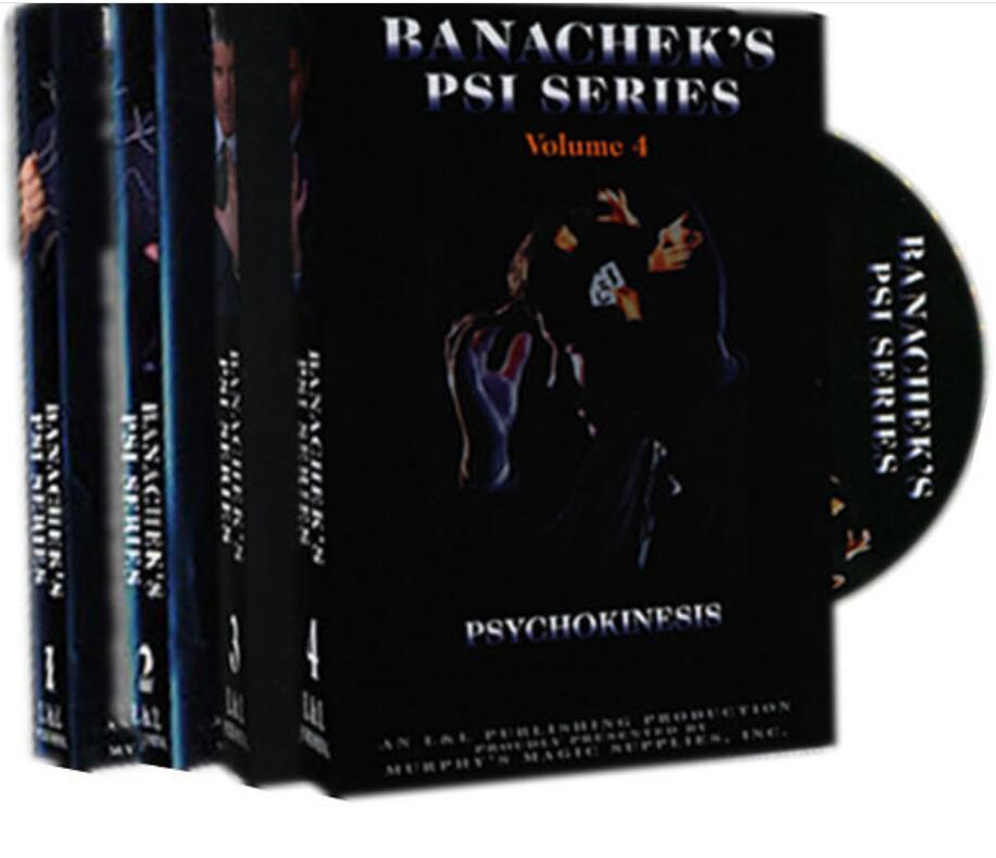 Steve Banachek - Banachek's PSI Series Vol.1-4