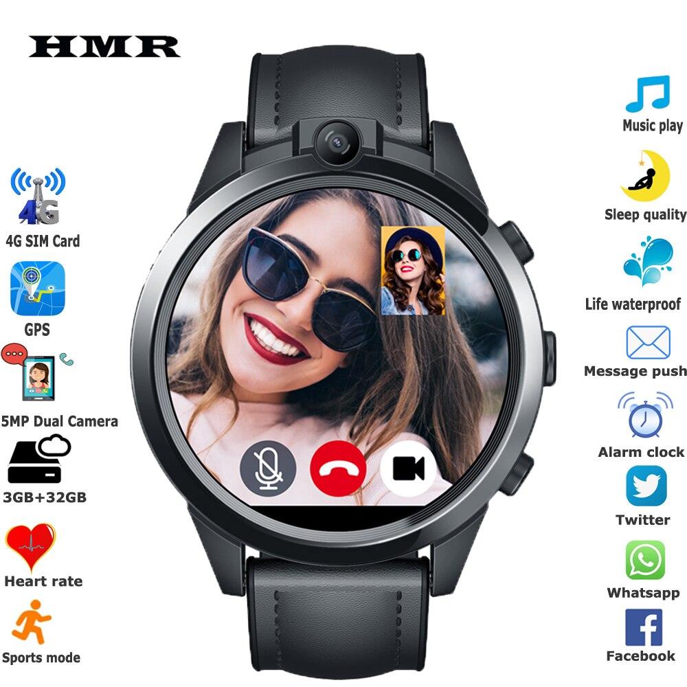 Новинка 2020, умные часы 4G, 3 ГБ + 32 ГБ, 800 мАч, двойная камера, Wi Fi сеть, SIM карта, GPS, многофункциональные мужские и женские спортивные наручные умные часы|Смарт-часы| | АлиЭкспресс