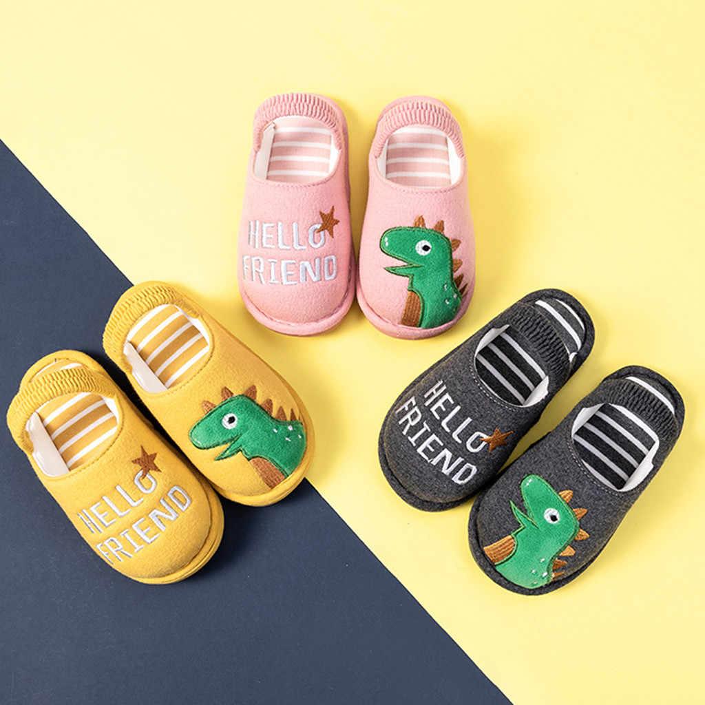 MUQGEW เด็กวัยหัดเดิน Boys Girls เด็กทารก Fluffy เด็กเล็กรองเท้า 2019 ใหม่ Winte น่ารักสัตว์บ้านรองเท้าแตะ chaussure เด็ก