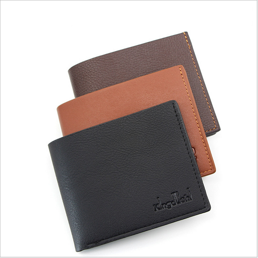 2019 New Soft Wallet Men's Ultra-thin Wallet High-quality Wallet Fashion Wild Simple Style