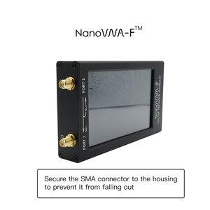 Image 4 - NanoVNA F VNA SWR מטר VHF UHF אנטנת Analyzer 1.5GHz + 4.3 IPS LCD + מתכת מקרה Deepelec