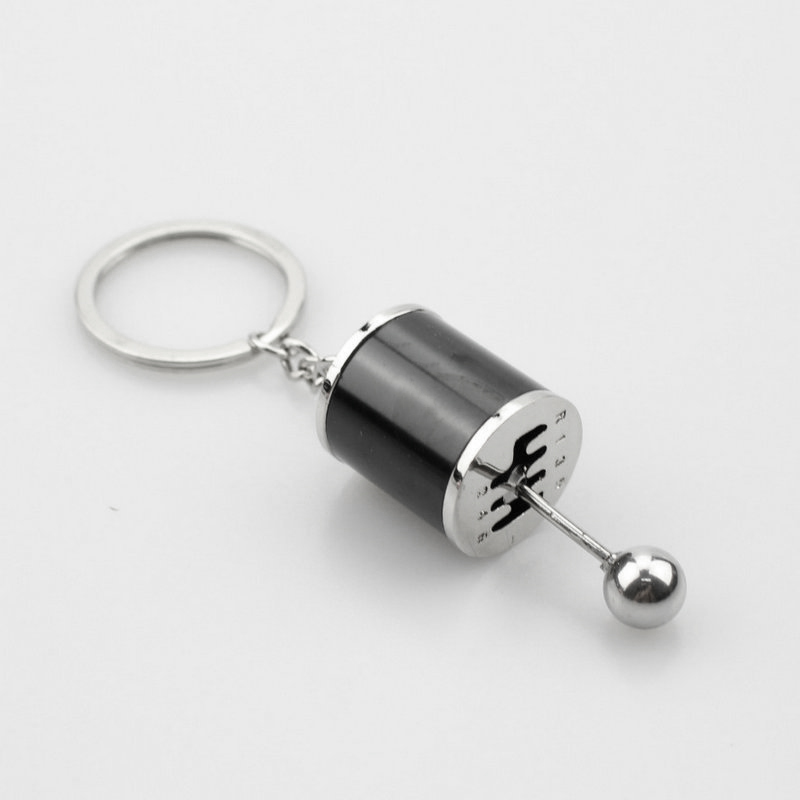 Key Chain Ring Fob Keyring Creative Car 6 Speed Gearbox Gear Shift Racing Tuning Model Keychain HSJ88 image
