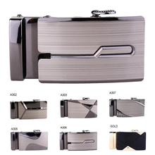 1PCS Belt Buckle Men Automatic Buckle Brand Designer Leather Waistband Buckles N