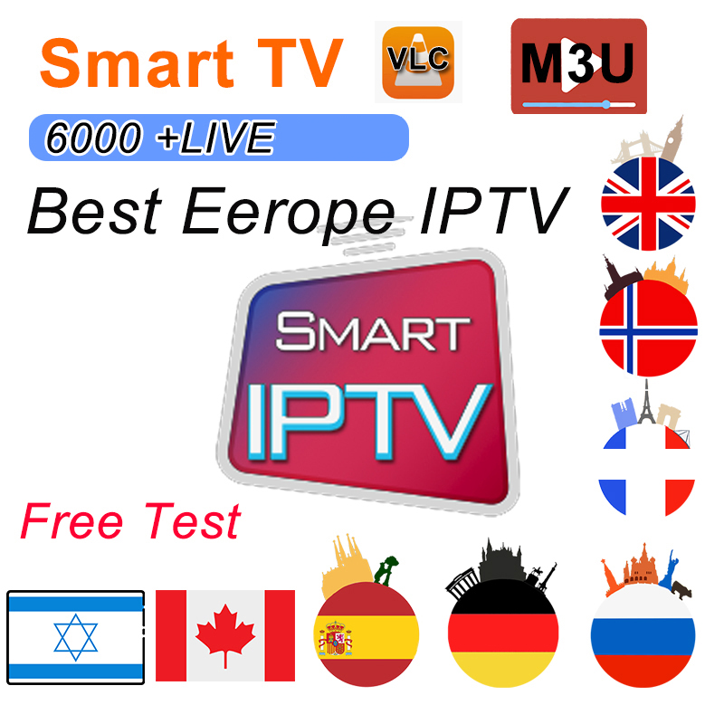 1/3/6/12 Months IPTV German  Turkish Morocco UK Poland Hungary Czech Spain Portugal HD IPTV Support Android M3U Smart TV