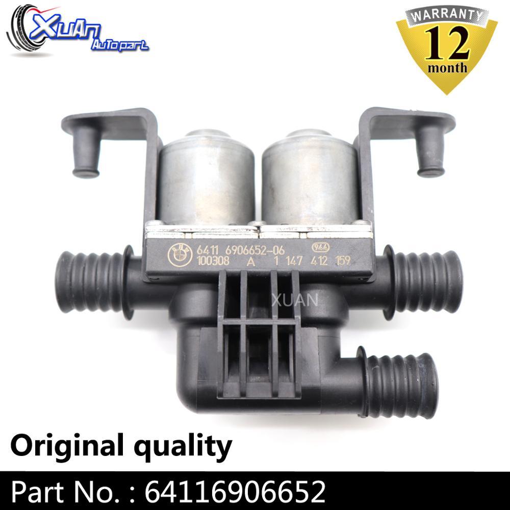 XUAN Heater Control Valve Solenoid 64116906652 For BMW E60 E63 E65 E66 535i 535i xDrive 535xi 545i 550i 645Ci X5 5 6 7 Series