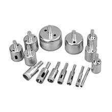 Diamond Hole Drill Bit Set Glass Hole Saw Cutter Tools Multifunctional JDH99
