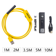 1200P WIFI Endoscope Camera Mini Waterproof Hard Cable Inspection Camera 8mm Borescope Compatible with Android IOS kerui wifi endoscope camera hd 1200p 8mm waterproof soft hard cable inspection mini camera for ios android windows endoscope