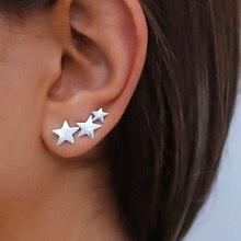 fashion 100% 925 Sterling Silver ear cuff,Christmas gift sil