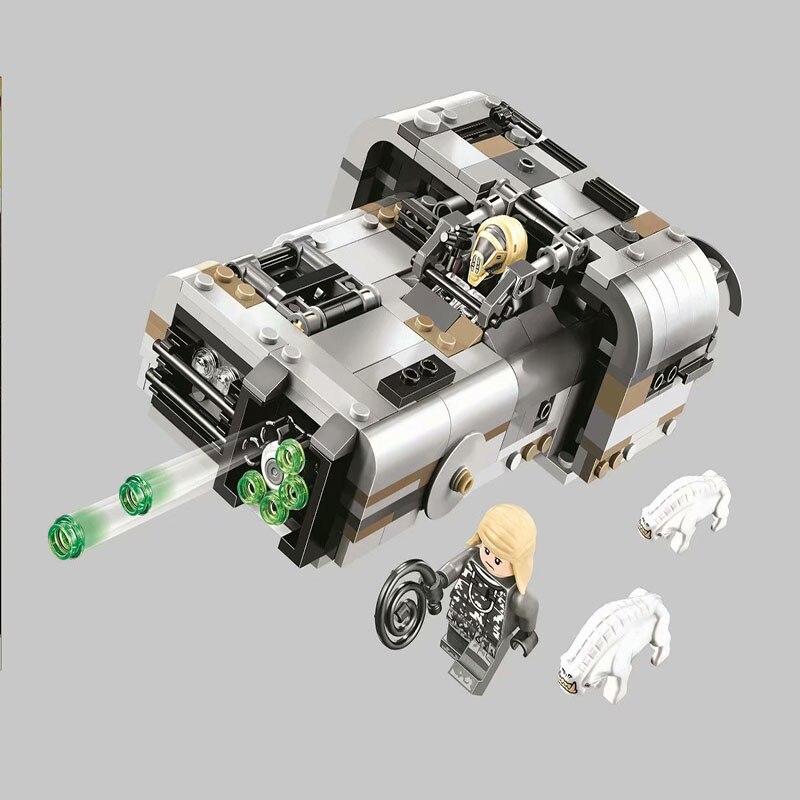 IN STOCK Bela 10911 426Pcs Star Wars series Moloch's Landspeeder Building Blocks Bricks Kids Friends Toys Christmas gift 75210 1