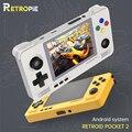 Retropie Retroid Tasche 2 Retro Spiel Tasche Konsole 3,5-zoll IPS Screen Android und Pandora Dual System Schalt 3D spiele
