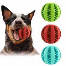 Pet Dog Toys Rubber Trumpet Leakage Food Ball Creative Pets Cat Shrieking Puzzle Resistant Teeth Bite