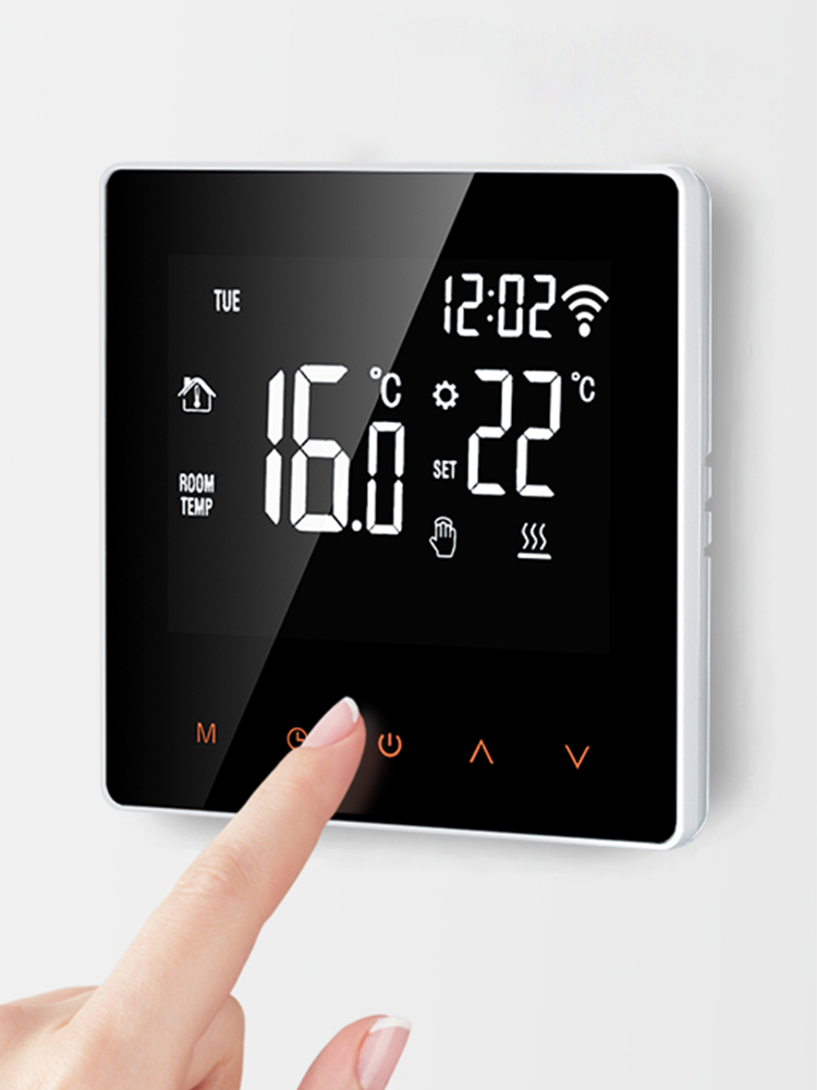 Remote-Controller Temperature Smart Thermostat Tuya Wifi Alexa Electric-Floor Heating