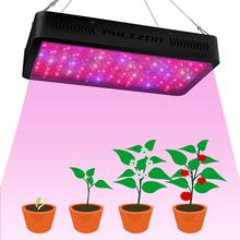 1200W LED Grow Light Lamp Plants Flower Organic Growing Full Spectrum Double Switch Plant for Veg and Dual 10W Leds