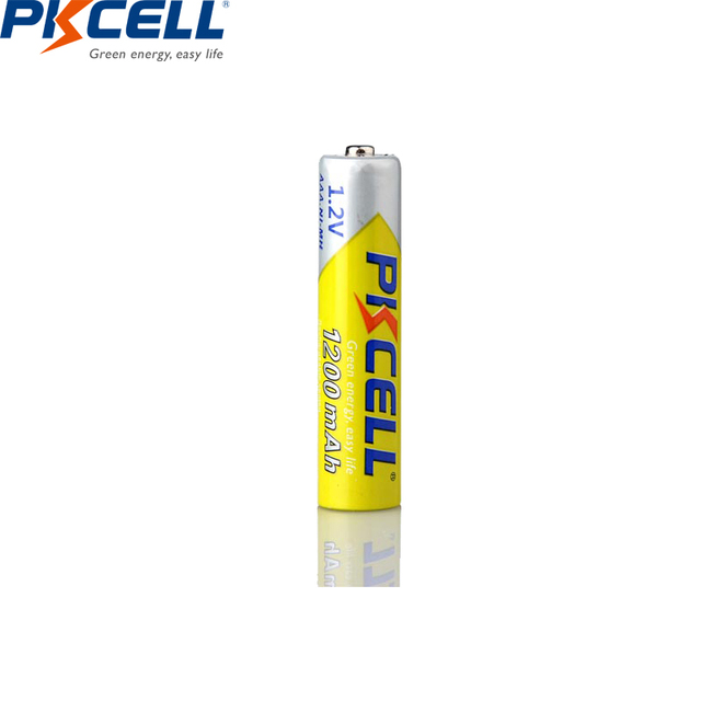8 個/2 カード pkcell 1.2 v ニッケル水素 aaa 充電式電池 aaa 1200 で 1000 サイクルバッテリー led 懐中電灯自転車ランプ