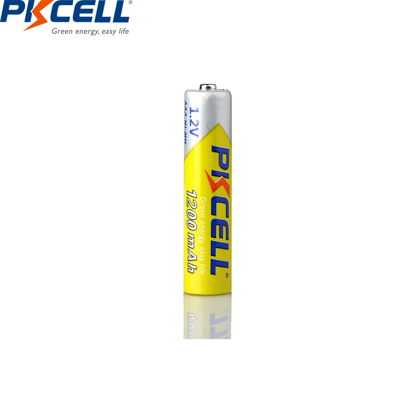 8PCS/2card PKCELL 1.2V NIMH AAA rechargeable batteries AAA 1200mah with 1000 Cycle battery for LED flashlight bicycle lampReplacement Batteries   - AliExpress