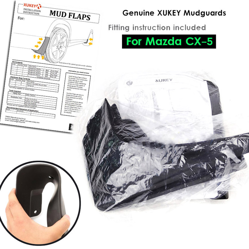 Image 5 - Car Mud Flaps Mudflaps Splash Guards Mud Flap Guard Mudguards Fender Protector For Mazda CX 5 CX5 2012 2013 2014 2015 2016-in Mudguards from Automobiles & Motorcycles