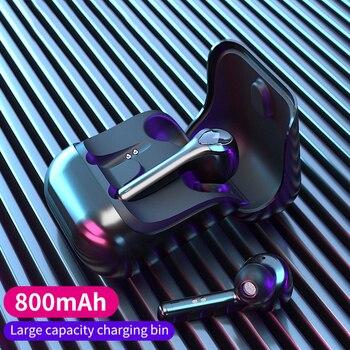 TWS Bluetooth Earphones Wireless Headphones Noise Canceling Ture Wireless Earbuds Gaming Headsets G9 Mini Headphone for Xiaomi