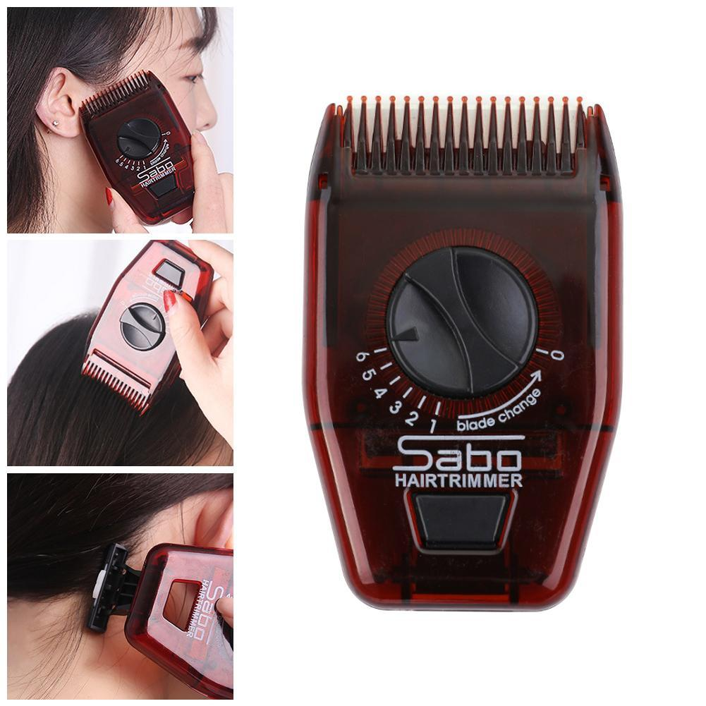 Multifunctional Manual Hair Trimmer Hairdressing Haircut Hair Comb Portable Mini Hair Cutting Machine Beard Trimmer For Unisex