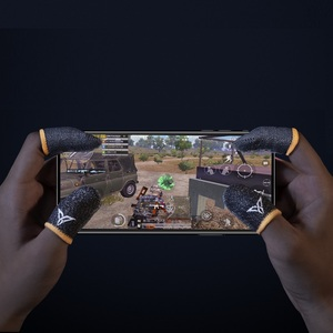 Image 4 - Flydigi wasp feelers 2 dedo manga suor prova dedo capa do telefone móvel tablet pubg jogo tela de toque polegar 4 peças