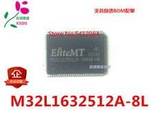 1PCS M32L1632512A-8L QFP100
