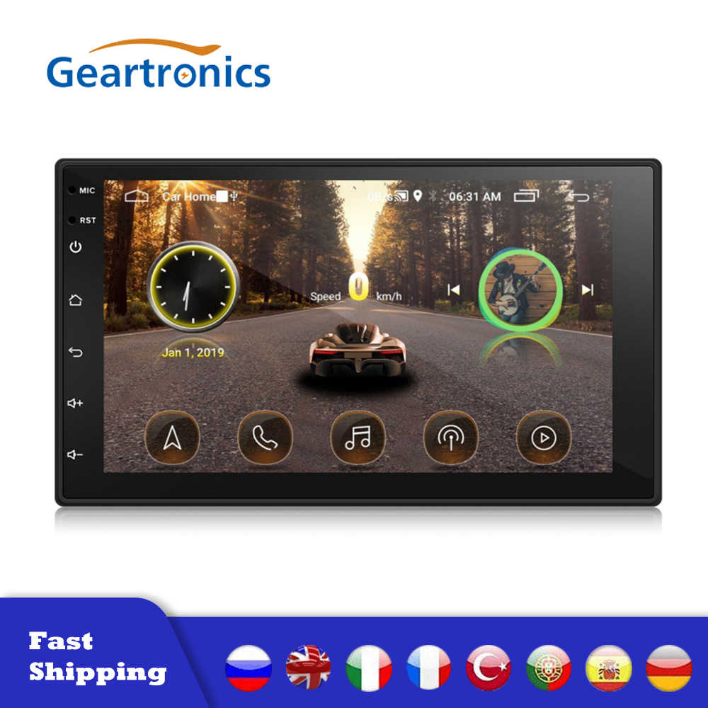 Android 8.1 2Din Auto Radio Multimedia Video Player Universele Auto Stereo Gps Kaart Wifi Auto Stereo 7Inch Hd Scherm auto MP5 Speler