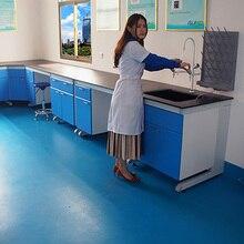 Лабораторная мебель, лабораторный стол из цельной стали, лабораторный стол из цельной стали, лабораторный верстак из цельной стали