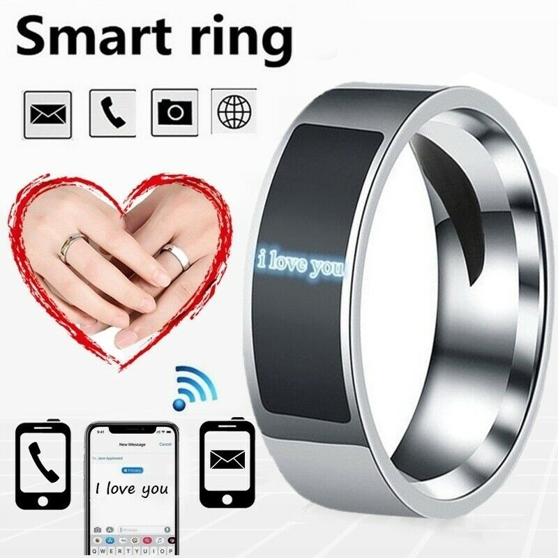 Hot Waterproof NFC Smart Ring Multifunctional Intelligent Wear Finger Digital Rings For Android Phone Equipment Rings