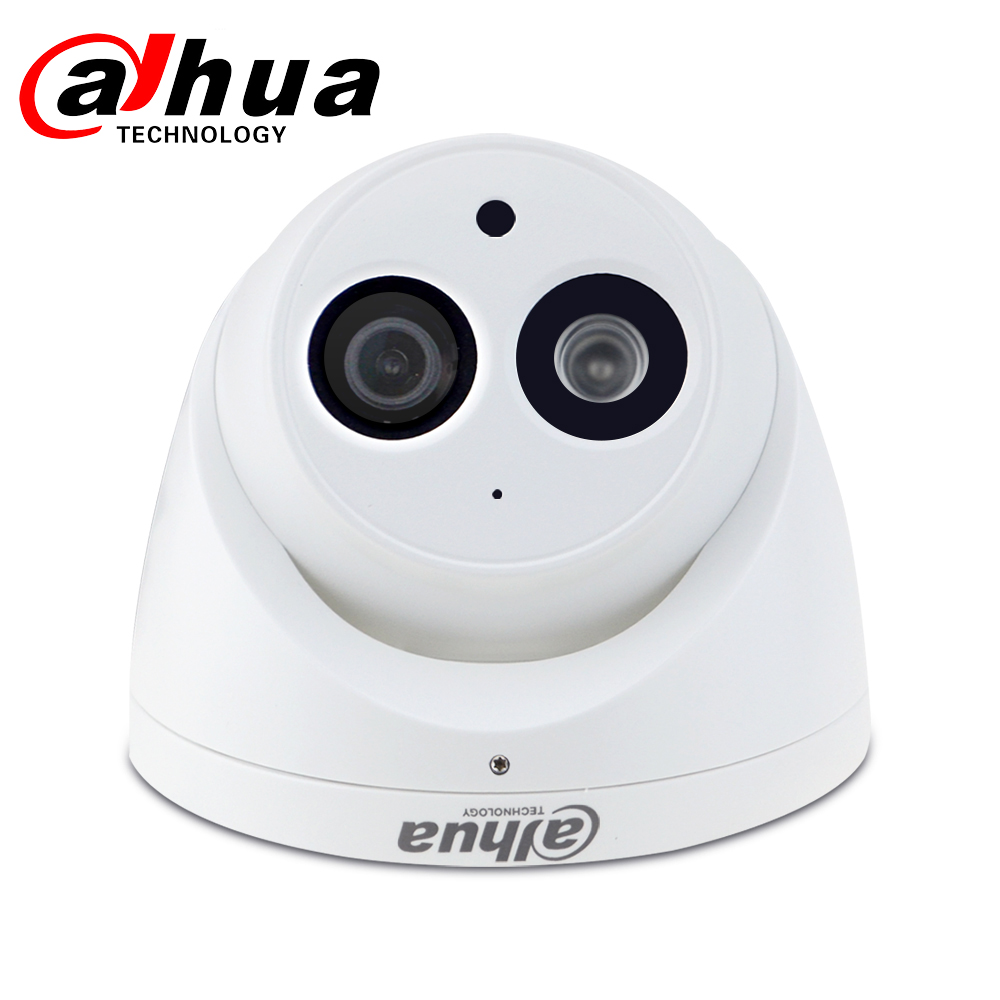Image 2 - Dahua IPC HDW4631C A 6MP HD POE Network Mini Dome IP Camera Metal Case Built in MIC CCTV Camera 30M IR Night Vision Dahua IK10-in Surveillance Cameras from Security & Protection
