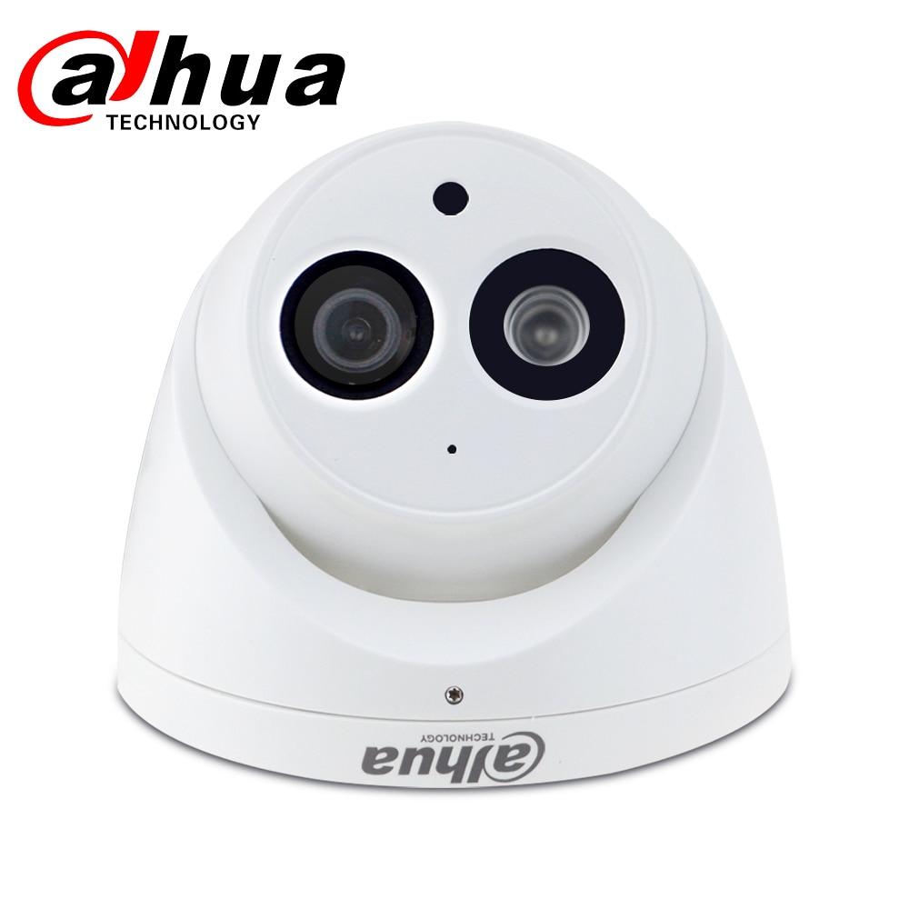 Dahua IPC HDW4631C A 6MP HD POE Network Mini Dome IP Camera Metal Case Built in Dahua IPC-HDW4631C-A 6MP HD POE Network Mini Dome IP Camera Metal Case Built-in MIC CCTV Camera 30M IR Night Vision Dahua IK10