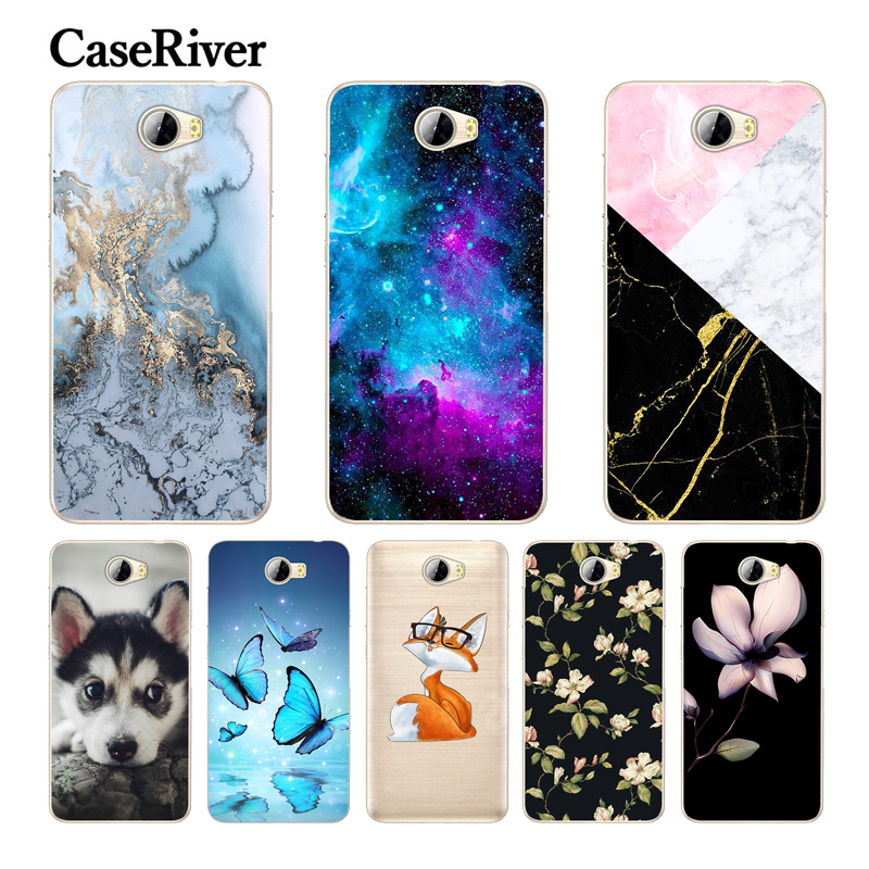 "CaseRiver For 5.0"" Huawei Y5 II Case Cover Soft Silicone Russia Version For Huawei Honor 5A LYO-L21 Case For Huawei Y5 II Y5II"