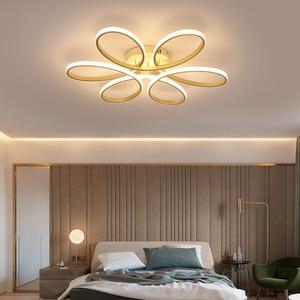 Image 2 - Современные светодиодные потолочные лампы с дистанционным управлением для гостиной спальни 78 Вт 72 Вт 90 Вт 120 Вт алюминиевая домашняя лампа с плафоном